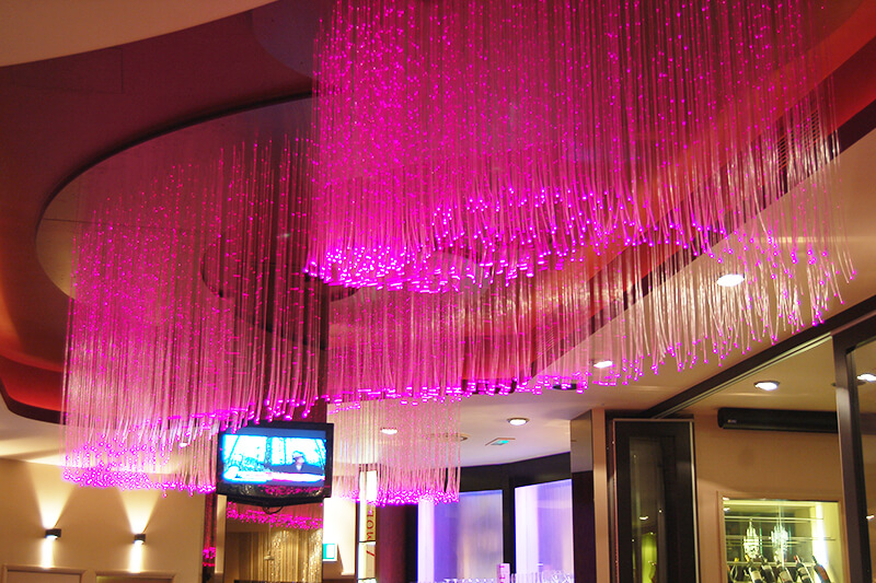 โคม Fiber Optic Chandelier