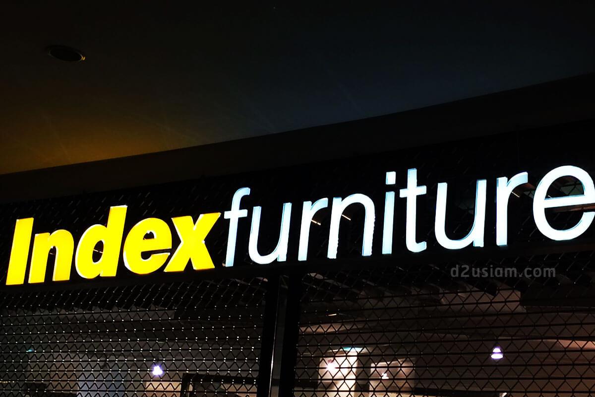 ป้่ายไฟ LED index Furniture
