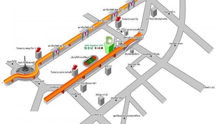 แผนที่ D2Usiam